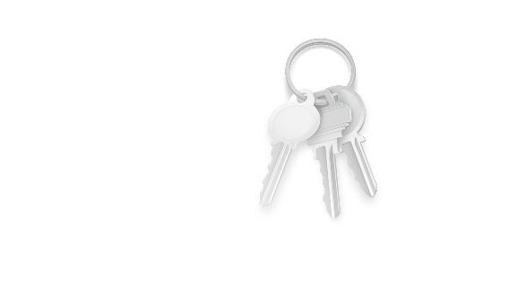 Ideal für Schlüsselbunde mit einem Autoschlüssel